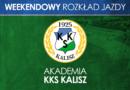 Plan meczów drużyn młodzieżowych Akademii na dni 17-19 września