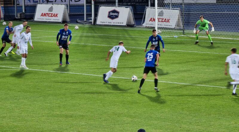 Bramki z meczu KKS Kalisz – Hutnik Kraków